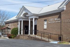 Harpersville city hall exterior